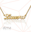 14k Gold Name Necklace - Smaller Version
