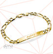 Women's ID Bracelet in 18k Gold Plating