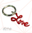 "Colored ""LOVE"" keychain"