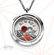 I Will Always Love You Floating Locket