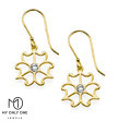My Only One - 18K Gold Plated Sterling Silver Petalo Earrings