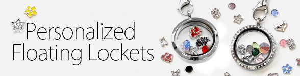 Personalized Floating Lockets