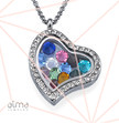 0.925 Silver Floating Locket