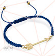 18K Gold Plated 0.925 Silver Arrow Bracelet