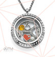 Key of your Love Floating Locket