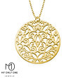 My Only One – 18K Gold Plated Sterling Silver Vintage Filigree Necklace